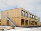 Koncepční dům společnosti EGGER – ubytovna prouprchlíky v blízkosti Stuttgartu