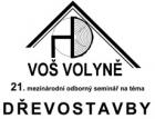 Pozvánka na mezinárodní seminář Dřevostavby 2017