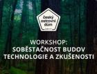 Veřejný workshop projektu Český ostrovní dům: o soběstačnosti budov