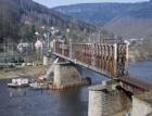 Oprava betonových konstrukcí pilíře železničního mostu v Prostředním Žlebu