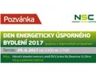 Pozvánka na Den energeticky úsporného bydlení 2017