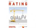 Vyšla příloha časopisu Stavitel Rating stavebních dodavatelů 2017