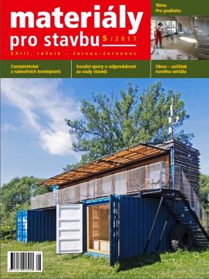 Materiály pro stavbu 5/2017