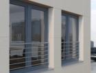 Schüco rozšiřuje nabídku o vlastní ochranné zábradlí k plastovým oknům