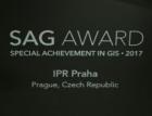 IPR Praha získal mezinárodní cenu za práci s geografickými daty