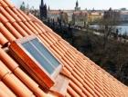 Historizující střešní okna Solara KLASIK