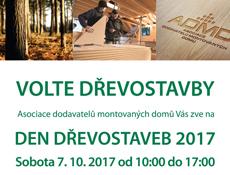 Den dřevostaveb už v říjnu