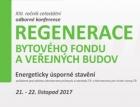 Pozvánka na konferenci Regenerace bytového fondu