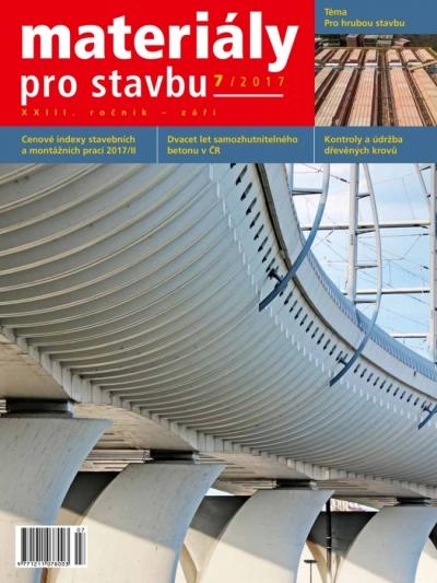 Materiály pro stavbu 7/2017