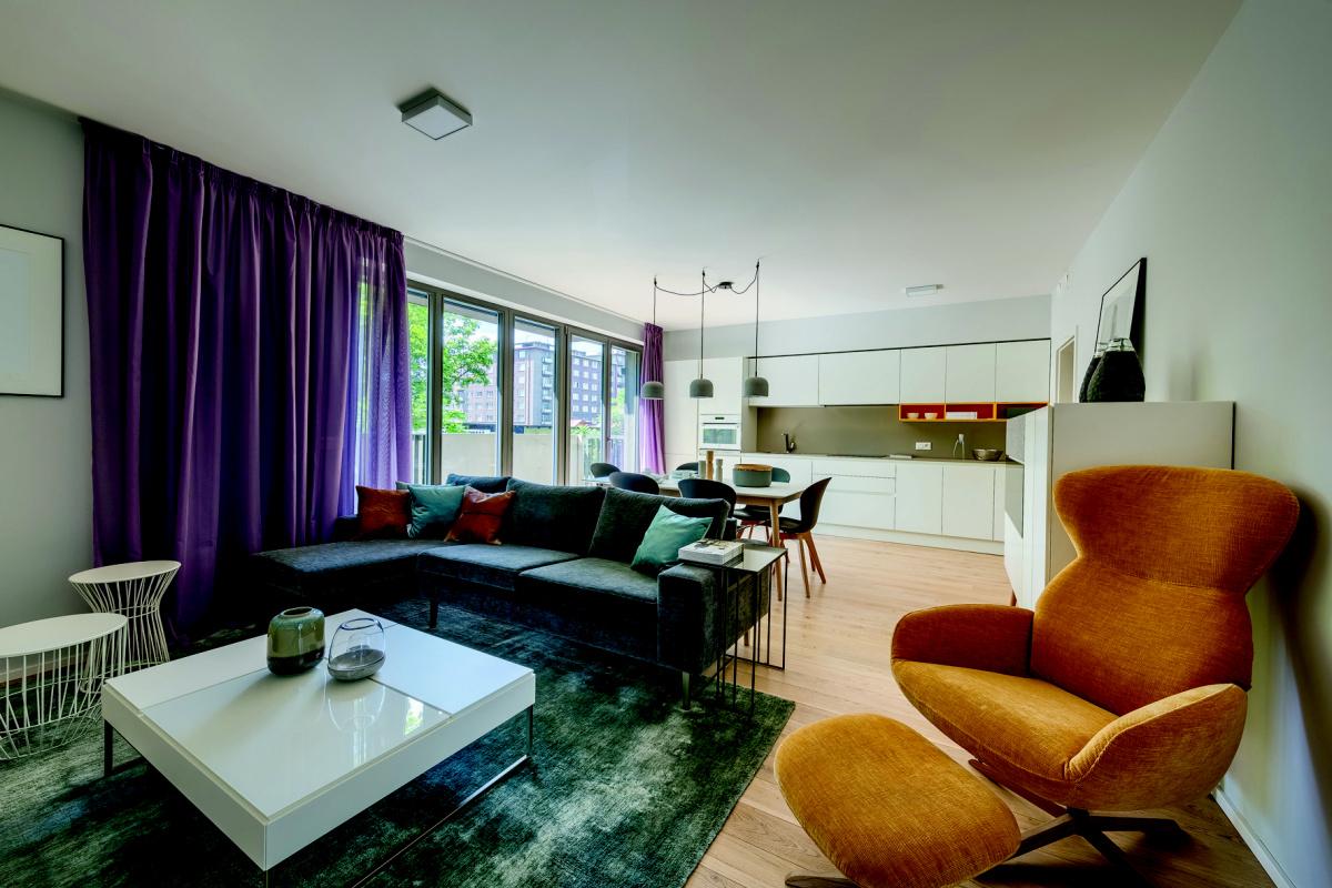 4Blok – k vysoké kvalitě bydlení přispívají sádrové omítky Knauf
