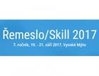 Soutěž učňů Řemeslo/Skill 2017 – výsledky
