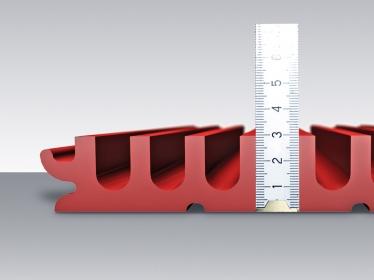 Kompozitní odpařovací žlab MEA PG EVO se stavební výškou pouze 30 mm
