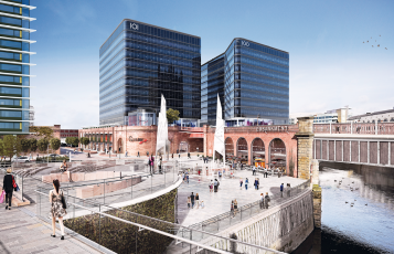 101 Embankment – vizualizace konečné podoby, zdroj Ask Real Estate