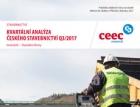 CEEC Research: Kvartální analýza českého stavebnictví Q3/2017