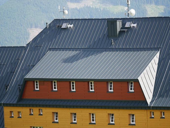 Mělnická bouda s novým kabátem od firmy PREFA Aluminiumprodukte