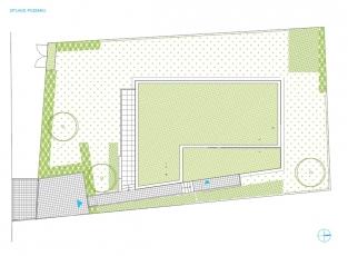 Situace, Dům v Brně-Komíně, architekt: KAMKAB!NET (Radim Horák, Hana Horáková)