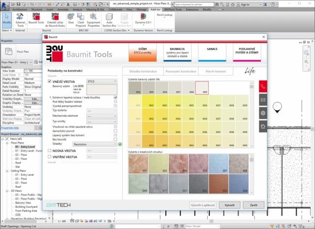 Baumit Tools – unikátní plugin pro BIM projektování