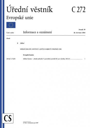Titulní strana tzv. Modré příručky (Blue Guide)