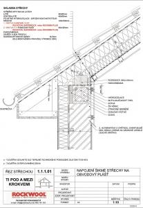 Konstrukční detaily šikmé střechy