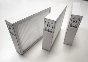 Filtry stejného rozměru s různou úrovní filtrace