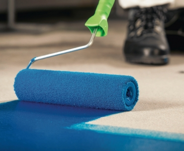 Obr. 4: Vyrovnávky a ochrana podlah systémem MC-Floor TopSpeed