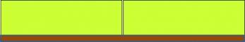 Obr. 6: Minerální izolace: spoje izolace na doraz, hrana tupá, kde tolerance šířky, délky a pravoúhlosti a rozměrová stabilita izolace jsou takové, že spáry nejsou širší než 5 mm (úroveň korekce č.0/ΔU 0,00)