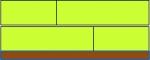 Obr. 8: Pěnové plasty: spoje izolace na doraz, hrana ozub nebo izolace ve vícero vrstvách s prostřídanými spárami (úroveň korekce č. 1/ΔU 0,01; úroveň korekce č. 2/ΔU 0,04)