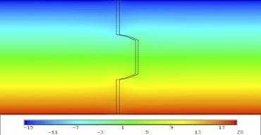 Obr. 16: Spoj na P+D, tl. 120 mm – spára 3 mm