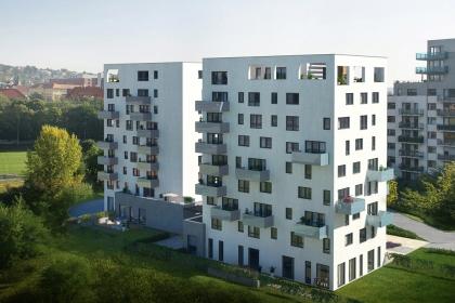 Rezidenční projekt Duo Rokytka – vizualizace