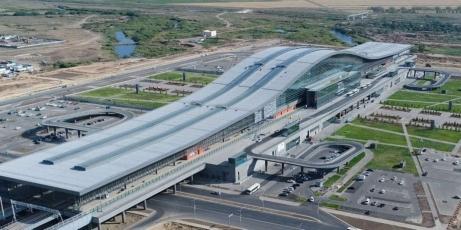 Vlakové nádraží Nurly Zhol v Astaně