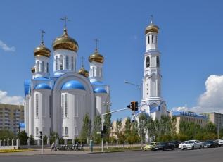 Uspenský katedrální chrám, Astana