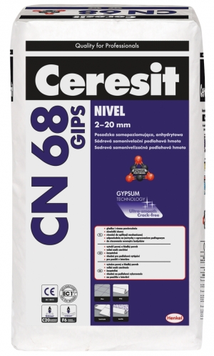 Nová sádrová stěrka Ceresit CN 68 GIPS