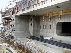 Obr. 8: Betonáž konstrukce Nového spojení