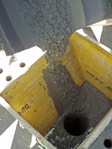 Obr. 10: Betonáž při rekonstrukci tunelů Národního divadla