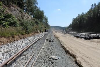 Šachty Tegra při modernizaci dálnice D1
