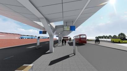 Autobusový terminál v Plzni