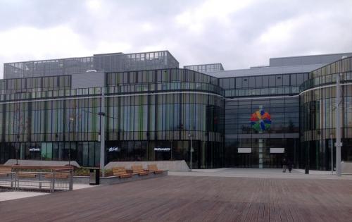 Galerie Šantovka v Olomouci, kde jsou požity izolace Rockwool