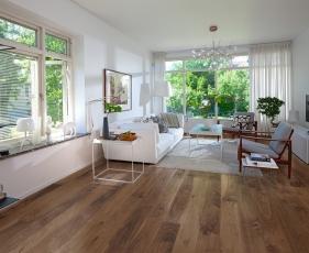 Dřevěná podlaha Karelia, kolekce Earth, dekor Ořech Story 138 Spirit
