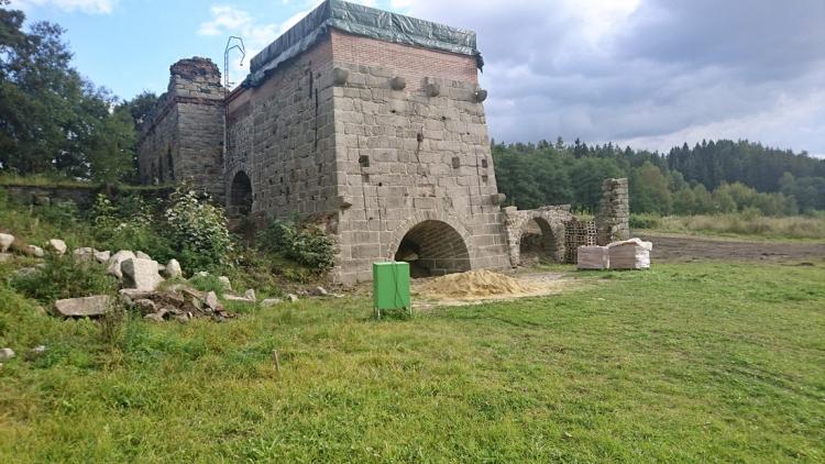 Huť v Šindelové je součástí historie krušnohorského železářství