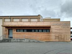 Ostrožská Nová Ves otevřela novou radnici a knihovnu