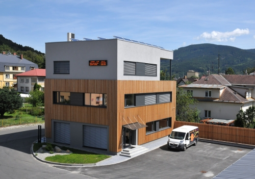 Chytrý energetický management administrativní budovy Fenix Group