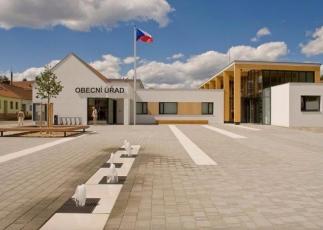 Revitalizace středu obce Bílovice nad Svitavou, P.P. Architects, s. r. o.