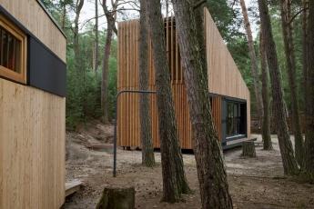 Chata u jezera (FAM Architekti, 2014)