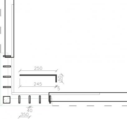 Obr. 19: Průběžné kotvení schránky