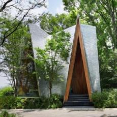 Sayama Forest Chapel, HiroshiNakamura & NAP