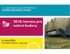Mezinárodní konference Centra pasivního domu poprvé v Praze