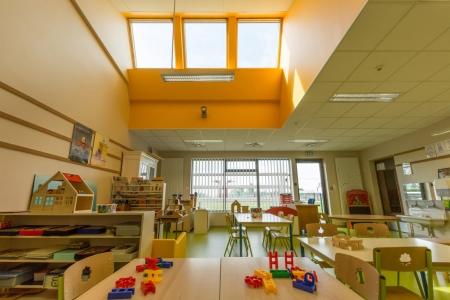 Škola ve městě Marcey-les-Grèves