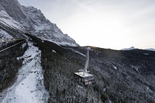 Novou lanovku na Zugspitze pohánějí technologie ABB