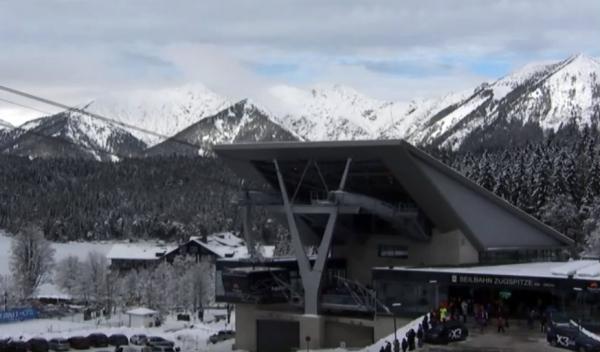 Nová lanovka na Zugspitze – video ZDF