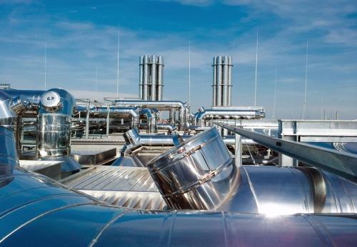 Nerezová produkce zahrnuje i výrobu komínů pro komerční využití